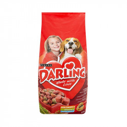 állateledel száraz Darling kutyáknak hússal és zöldséggel 15kg
