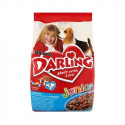 állateledel száraz Darling junior kutyáknak 8kg