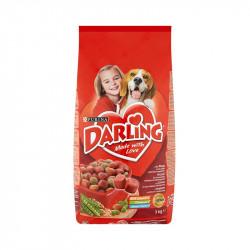 állateledel száraz Darling kutyáknak hússal és zöldséggel 3kg