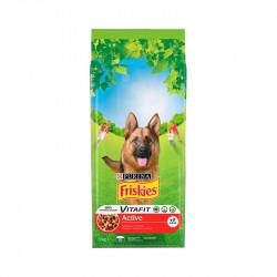 állateledel száraz Friskies vitafit active kutyáknak marhahússal 3kg
