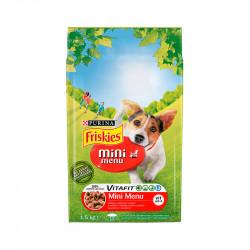 állateledel száraz Friskies vitafit mini menü kutyáknak marhahússal és zöldséggel 1,5kg