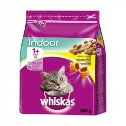 állateledel száraz Whiskas indoor macskáknak csirkehússal 800g