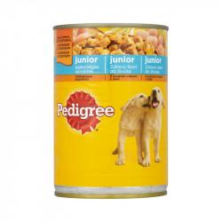 állateledel konzerv Pedigree kutyáknak junior csirkehússal 400g