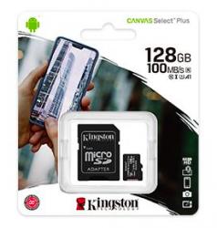 Canvas Select Plus 128GB CL10 microSDXC memóriakártya + adapter (SDCS2/128GB)