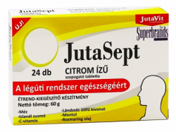 (1429) JutaSept szopogató tabletta, citrom