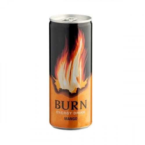 Energiaital szénsavas Burn mango 0,25l