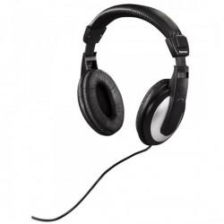 HK-5619 sztereó TV fejhallgató, fekete/ezüst