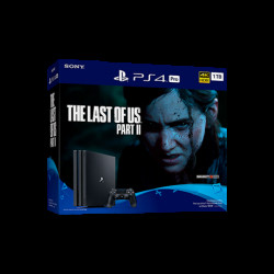 PS4 PRO 1TB + THE LAST OF US PART II Játékkonzol