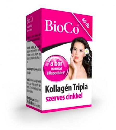kollagén tripla szerves cinkkel, 60db