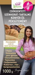 (1769) reform szénhidrát csökkentett kenyér lisztkeverék, 1000g