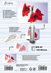Meleglamináló fólia, A4, 125 mikron, 25 db