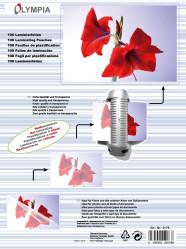 Meleglamináló fólia, A4, 125 mikron, 100 db