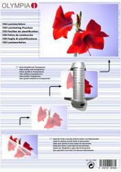 Meleglamináló fólia, A4, 80 mikron, 100 db