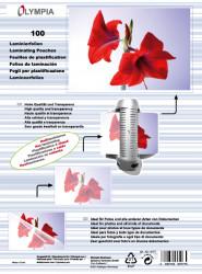 Meleglamináló fólia, A5, 125 mikron, 100 db