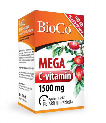 Mega C-vitamin 1500mg