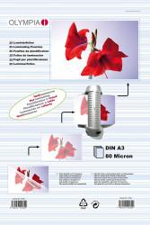 Meleglamináló fólia, A3, 80 mikron, 25 db